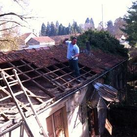 Réparation de toitures